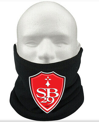 Stade Brest F.C THERMAL Football Fleece NeckWarmer Gift Mask Snood Scarf