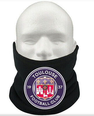 Toulouse F.C THERMAL Football Fleece NeckWarmer Gift Mask Snood Scarf