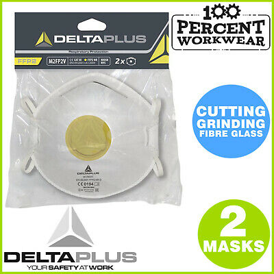 Mechanics Fabrication Grinding Cutting Fibre Glass Disposable Dust Masks FFP2