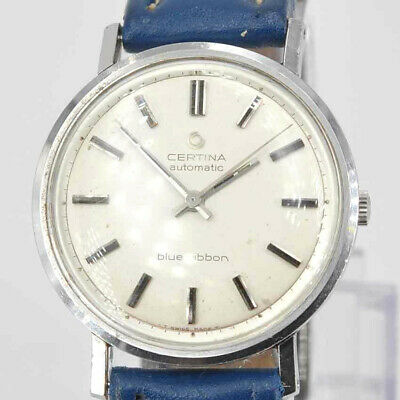 True Vintage Certina blue ribbon automatic Armbanduhr Cal. 25-651