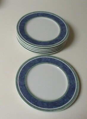 Villeroy & Boch Switch 3 Costa 6 B&B Bread & Butter Dessert Plates Germany NWT