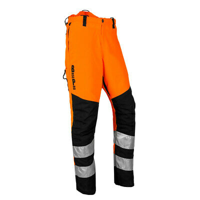 BasePro Hi-Vis Orange Type A Chainsaw Trouser