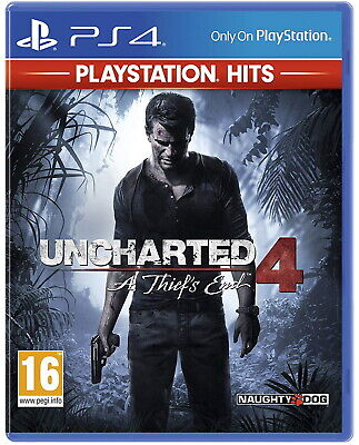 Uncharted 4: A Thief's End  - PS4 Playstation 4 Spiel - NEU OVP