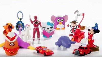 2019 McDonalds SURPRISE RETRO 40TH ANNIVERSARY Happy Meal Toys Complete SET