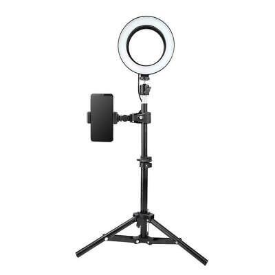 LED Ring Light Studio Photo Video Lamp Tripod Stand Selfie Camera Phone