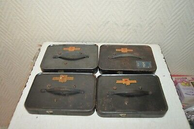 Set 4 Charger Pathe Webo for Camera Pathe Film 9.5 mm Vintage 1950 Pspf