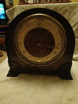 Old Bentima 8 Day Clock Movement For Spares Or Repairs