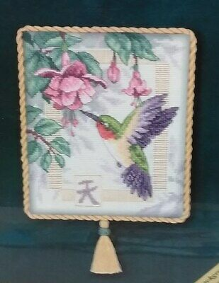 "Dimensions 35059 Gold Nuggets Exquisite Hummingbird Counted Cross Stitch 8"" x 10"