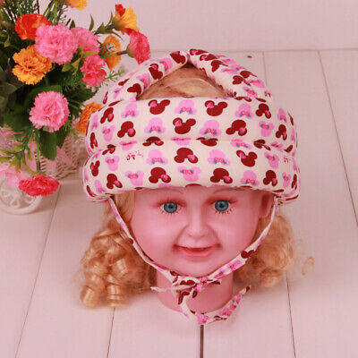 Baby Adjustable Safety Helmet Kid Child Toddler Head Protect Hat Cap Harmless HT