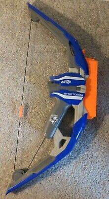 Nerf Stratobow Dart Gun Bow Toy Weapon N Strike Elite 2015 Hasbro