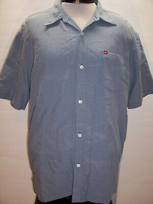 QUIKSILVER Mens XL X-Large Button-up shirt Combine ship Discount
