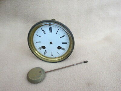 Antique Jos. Penlington Liverpool Bell Strike Clock Movement, Hands, Etc