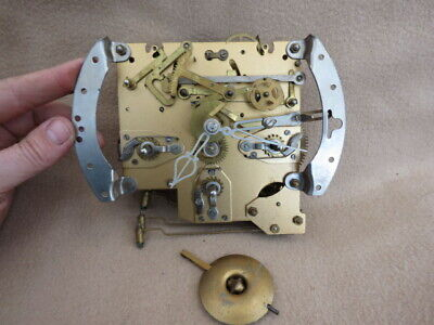 Vintage Smiths Enfield Westminster Chime Movement, Hands, And Pendulum