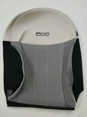 Fiat 500 front left backrest fabric cover