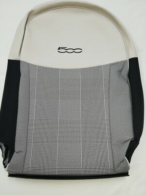 Fiat 500 front right backrest fabric cover