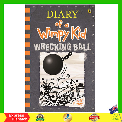 Diary Of A Wimpy Kid 14 Wrecking Ball Paperback Book Brand New FREE SHIPPING AU
