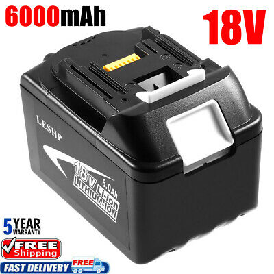 For MAKITA BL1860 18V 6.0AH LXT Li-ion Battery BL1850 Lithium-ion LXT-400 dr