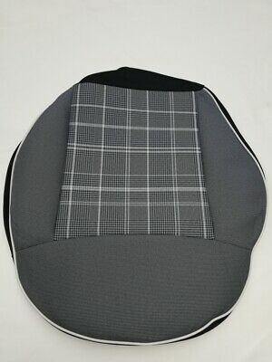 Fiat 500  front seat left cushion  fabric cover