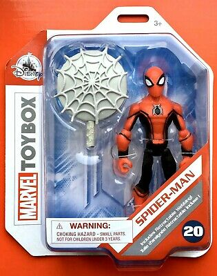 """Marvel Toybox Spider-Man Far From Home 5"""" Action Figure 20 / Disney Store"""