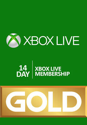 Xbox Live Gold - 14 Days (Xbox One) New / Renewal - Instant