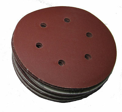 "Rdgtools 6"" Hook And Loop Sanding Discs X 25 P320 Grit"
