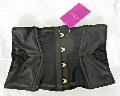 """L'Agent by Agent Provocateur """"Bryonie"""" Waspie. XS Black New with tags"""