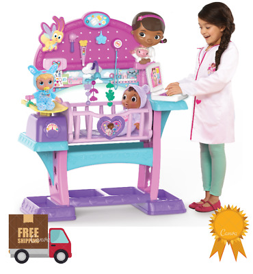 Disney Junior Doc McStuffins Baby All In One Nursery Playroom Girls Toys Gift