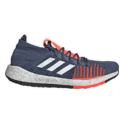 ADIDAS PULSE BOOST HD M Black Grey Solar Red Laufschuhe