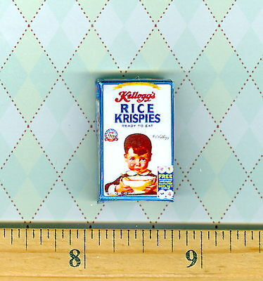 Discontinued  Dollhouse Miniatures Size VINTAGE 1920/'s Cereal Box