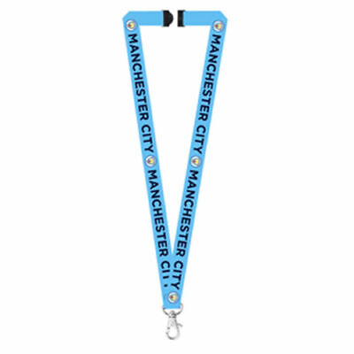 Manchester City Lanyard Official Licensed Football Man MCFC FC New Crest