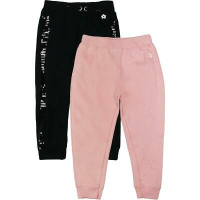 Limited Too Girls Black 2 Pack Sequined Set Jogger Pants 3T BHFO 4148