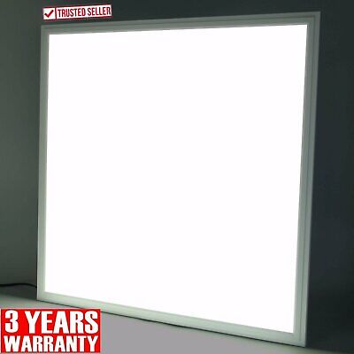 NEW 48W LED Panel Light Recessed Ceiling 600 x 600 x 9mm - Cool White 6500K UK