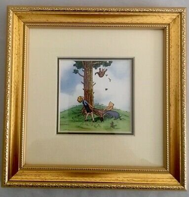 5 Classic Pooh Art Prints - 3 Are From Lijue Colletion