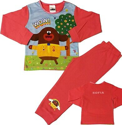 Boys Character Pyjamas Sleepwear 18-24m to 4-5y Great Styles Thomas Hey Duggee