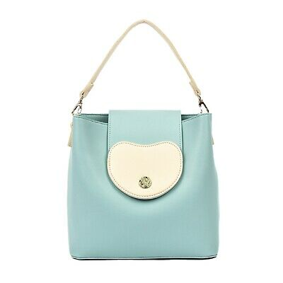 Rooty Vivid Crossbody Shoulder Hand Bags Top Handle Tote for Women Strap Mint