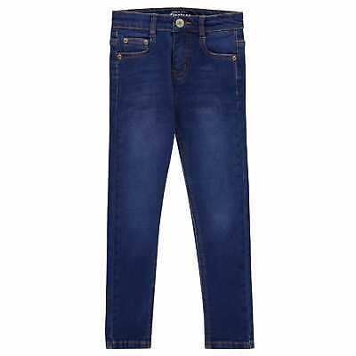 Firetrap Skinny Jeans Boys Pants Trousers Bottoms Cotton Slim Fit Denim