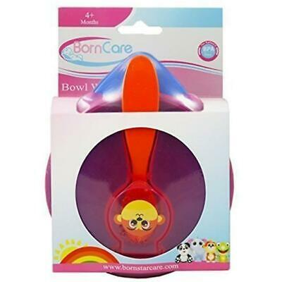 BornCare BCWS-137 Baby Feeding Bowl with Spoon