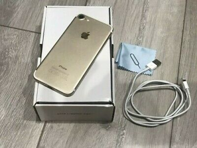 Apple iPhone 7 - 32GB - Gold (Unlocked) A1778 - Excellent Condition