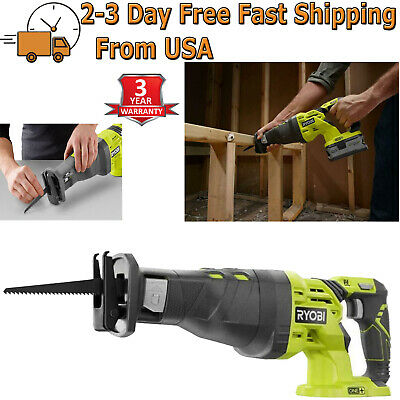 18-Volt ONE+ Cordless Reciprocating Saw (Tool-Only) w/ Variable Speed 0-2900 SPM