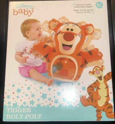 Interact with Winnie for hours. New Winnie the Pooh Roly-Poly Disney Baby