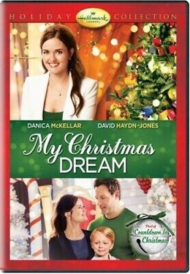 MY CHRISTMAS DREAM New DVD Danica McKellar Hallmark Channel Holiday Collection