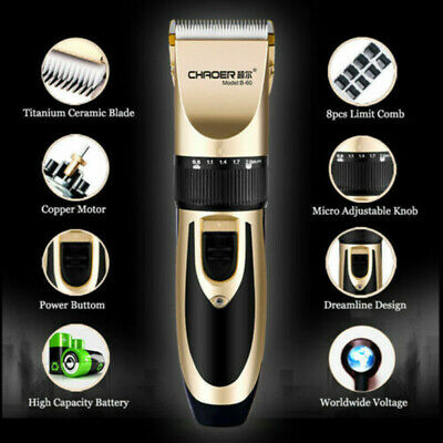 Rechargeable Electric Shaver Razor Men Beard Hair Clipper Trimmer Grooming Cut