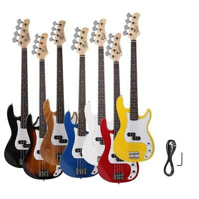 "7 Colors Glarry 34"" 20 Frets Electric Bass Guitar Right Handed Music Instrument"