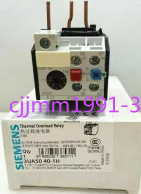 1PC New in Box SIEMENS 3UA5040-1H relay