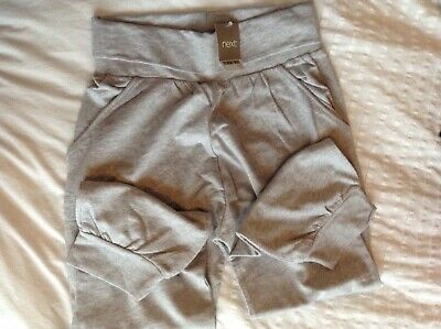 Girl age 11 years joggers Next new 3/4 harem trousers grey dance