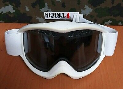 Durable white ski / motocross protective safety goggles Grade - 1