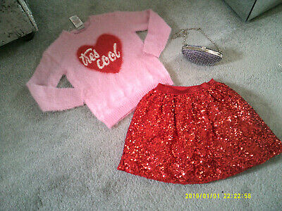 Girls 3 piece outfit - 9-10 years NEW