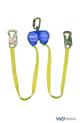 Web Devices, Predator, Self Retracting Device, Fall Arrest System, Double SRL