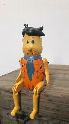 TinTin Hand Made Solid Wood Articulated Ornament Brand New