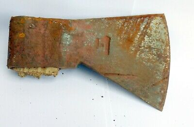 altes Beil historische Axt OLD TOOL 🍀 HOLZSPALTER AXE Stempel Made in Germany